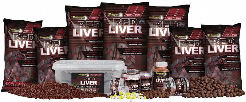 Starbaits Boilies Probiotic Red Liver